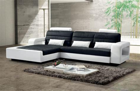 Sam® Ecksofa Schwarz  Weiß Sofa New York 188 X 310 Cm Links