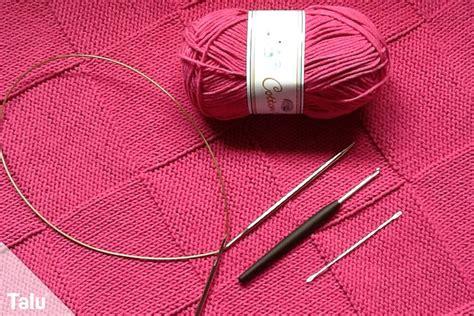 Wieviel Wolle Für Babydecke Häkeln  My Blog