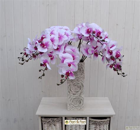 fiori artificiali real touch fiore artificiale phalaenopsis real touch fucsia