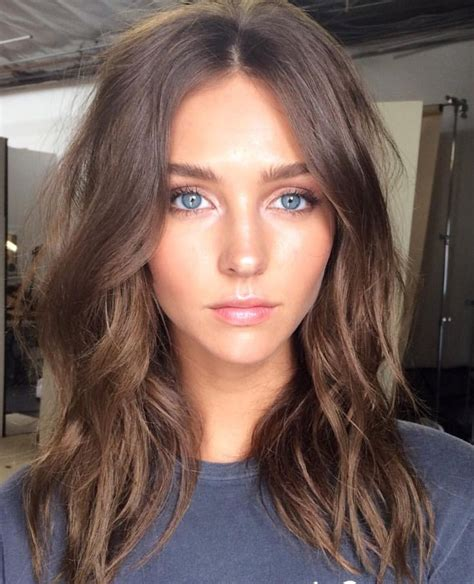 soft brown hair color 25 best ideas about soft waves on soft brown