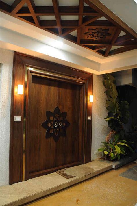 reflecting taste coordinated ceiling designs wall spaces main entrance door design door