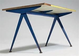 Table Jean Prouvé : jean prouv table compas table pi tement m tallique et ~ Melissatoandfro.com Idées de Décoration