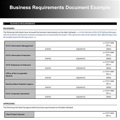 Data Warehouse Business Requirements Template by Data Requirements Template Ideas Resume Ideas