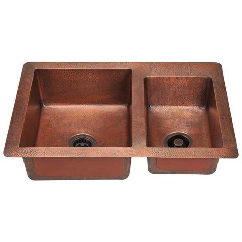 copper kitchen sink faucets polaris sinks undermount copper 33 in bowl kitchen
