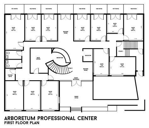 building a house floor plans building floor plans arboretum professional center