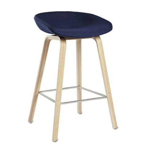 Tabouret Hay About A Stool by Tabouret De Bar About A Stool Aas33 Bois Et Tissu Hay