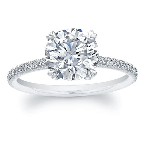 circle wedding ring solitaire engagement rings