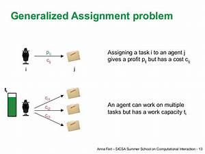 generalized assignment problem