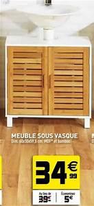decoration salle de bain gifi With meuble de salle de bain gifi