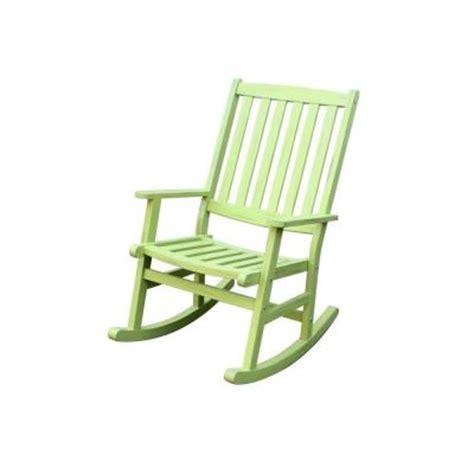 home styles bali hai limeade patio rocking chair 5660 585