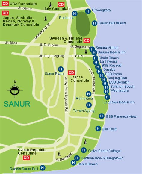 map  sanur investbalicom