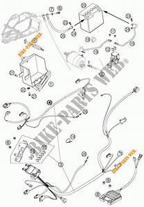 Faisceau Electrique Pour Ktm 450 Sx Atv De 2009   Ktm