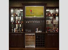 Built in bar idea i like the idea of liquor shelves with