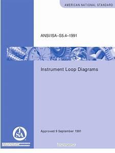 Isa 5 4 Instrument Loop Diagrams