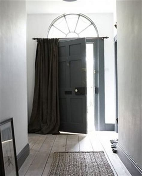 front door curtains preparing for times winter prep