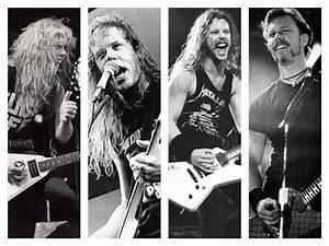 Metallica- James Hetfield 1983, 1986, 1988, 1997 | Metallica
