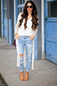 45+ Summer 2016/2017 Outfits with Ripped Jeans Fashion Craze
