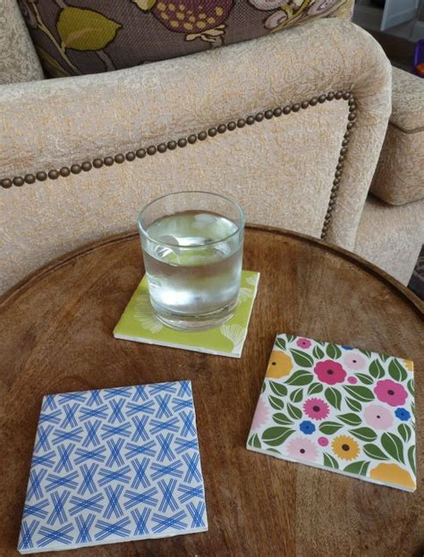 diy tile coasters how to make your own coasters 29 diy wonderful designs