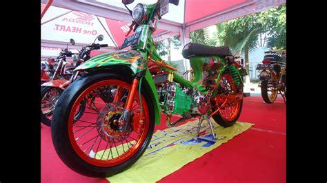 C70 Kontes Racing by Modifikasi Honda C70 Kontes Mesin Satria Fu Racing Look
