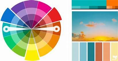 Colour Complementary Scheme Analogous Palettes Website Plastics