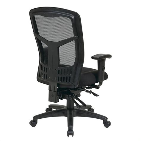 high back managers office chair with 5 lever multi