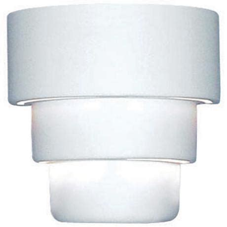 up 10 quot high ceramic outdoor wall light 28355