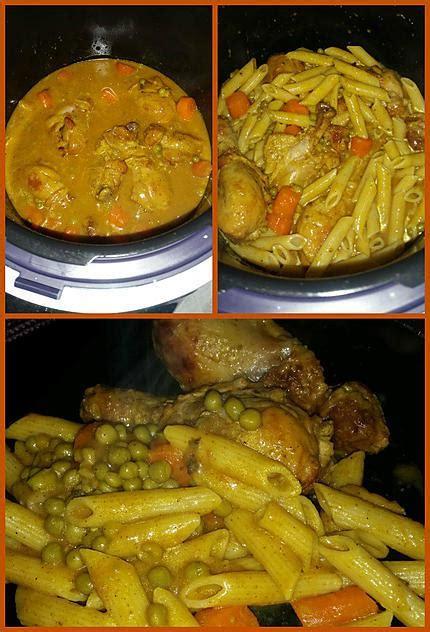 recettes cookeo poulet au curry