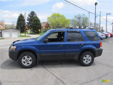 2007 Ford Escape by Vista Blue Metallic 2007 Ford Escape Xls 4wd Exterior