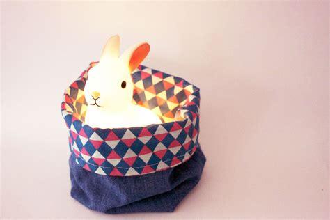 un panier en tissu r 233 versible diy pinketcetera mode lifestyle voyage