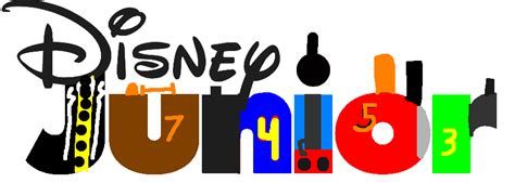 Disney Junior Logo Thomas And Friends Style