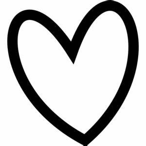Cute Heart Outline Clipart - clipartsgram.com