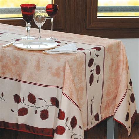 sedao vente de la table d 233 co nappe anti taches automne rectangulaire