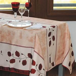 Nappe De Table Rectangulaire : sedao vente arts de la table nappe anti taches automne rectangulaire ~ Teatrodelosmanantiales.com Idées de Décoration