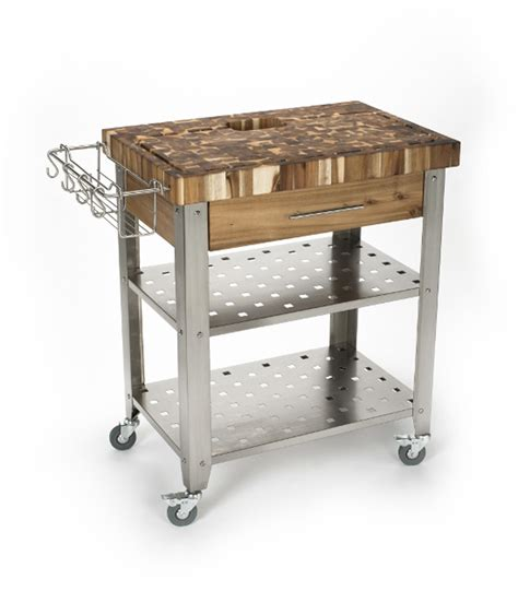 stainless steel kitchen island with butcher block top butcher block cart butcher block kitchen carts