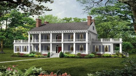 plantation home blueprints southern plantation style house plans southern