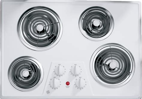 ge coil cooktop electric elements inch controls upfront removable front ada drip compliant bowls ajmadison disclaimer wh