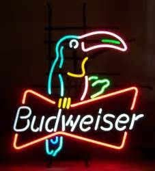 Budweiser Toucan Neon Beer Bar Sign Light