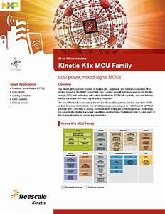 Kinetis U00ae K1x Mainstream Microcontrollers  Mcus  Based On
