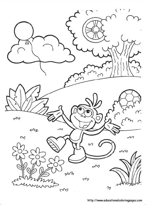 dora coloring pages   kids