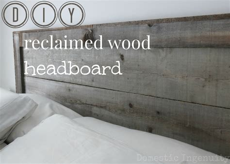 Wooden How To Build A Reclaimed Wood Headboard Pdf Plans