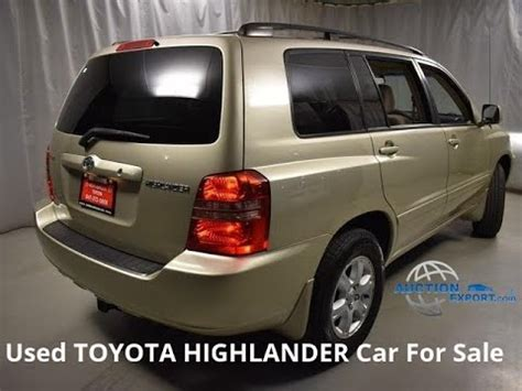 toyota highlander  sale  usa shipping