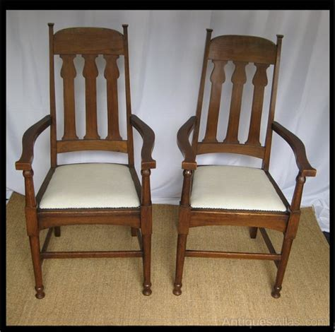 set of 8 arts and crafts chairs antiques atlas