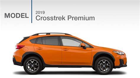 2019 Subaru Crosstrek Premium  Model Review Youtube