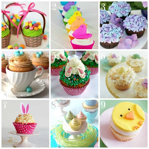 Ideas For Easter Cupcakes by Top 9 Easter Cupcake Recipes