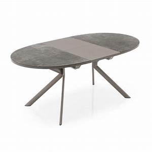 Table De Cuisine Ovale : table ovale extensible en c ramique giove connubia 4 ~ Teatrodelosmanantiales.com Idées de Décoration