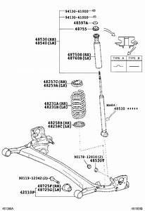 2005 Scion Xb Coil Spring Insulator  Left  Right  Rear  Lower   Suspension  Springs  Make