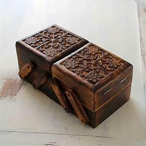 Boite à Clés Originale : bo te bijou indienne originale artisanat indien par pankaj boutique ~ Teatrodelosmanantiales.com Idées de Décoration