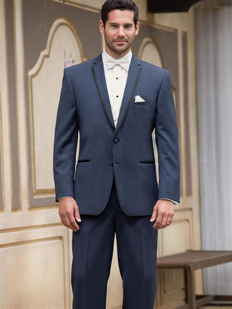 A navy suit is a smart choice for any occasion. Cheap 2016 Custom Made Wear Navy Blue Suit Groom Tuxedos ...