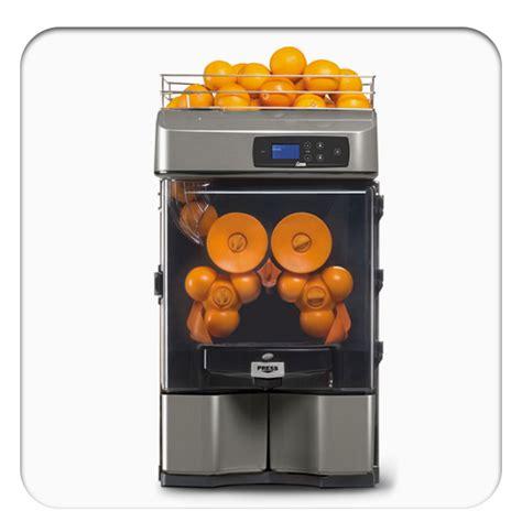 orange machine juicer automatic juice restaurant equipment industrial halls
