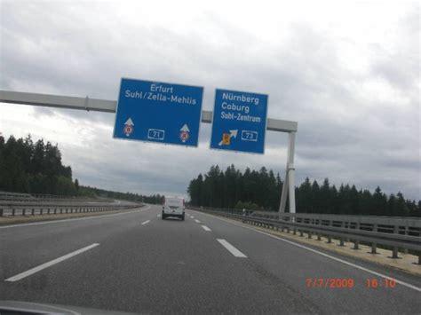 Autobahn Tempolimit Nach Auffahrt by Fotos A71 Meiningen S 246 Mmerda 3